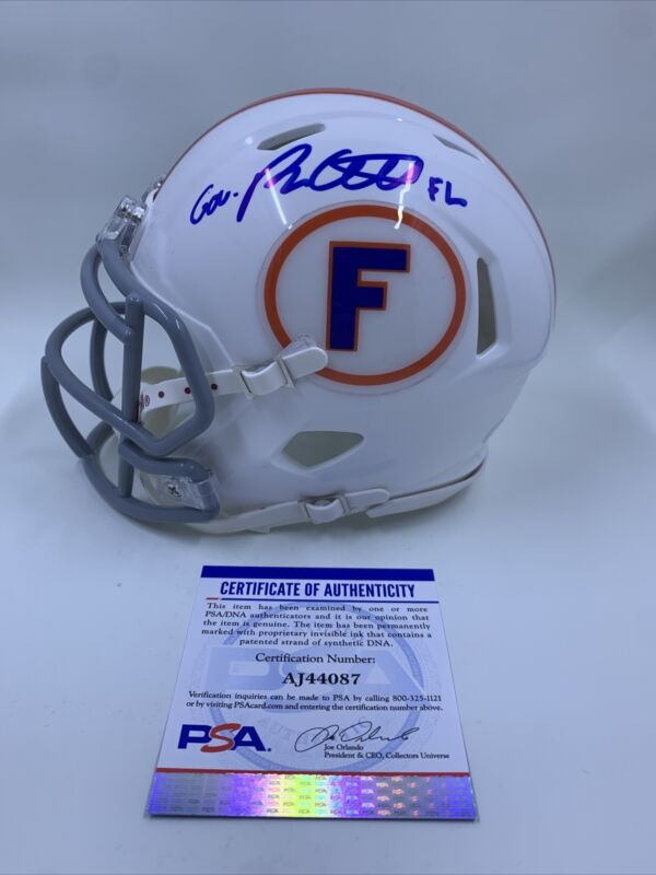 Ron DeSantis Signed Florida Gators Mini Football Helmet PSA/DNA US Governor