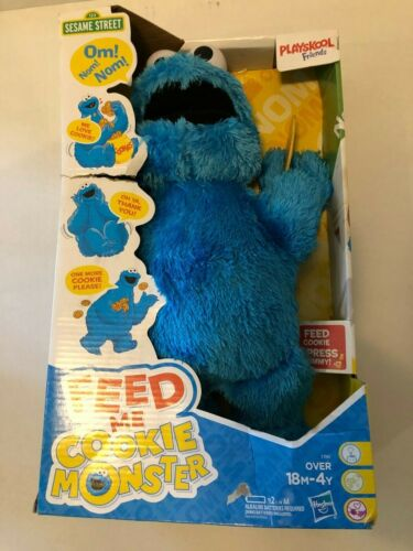 Playskool Friends Sesame Street Feed Me Cookie Monster Plush Interactive Toy