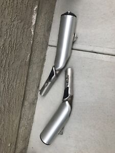 V-Strom 1000 Exhaust Pipes