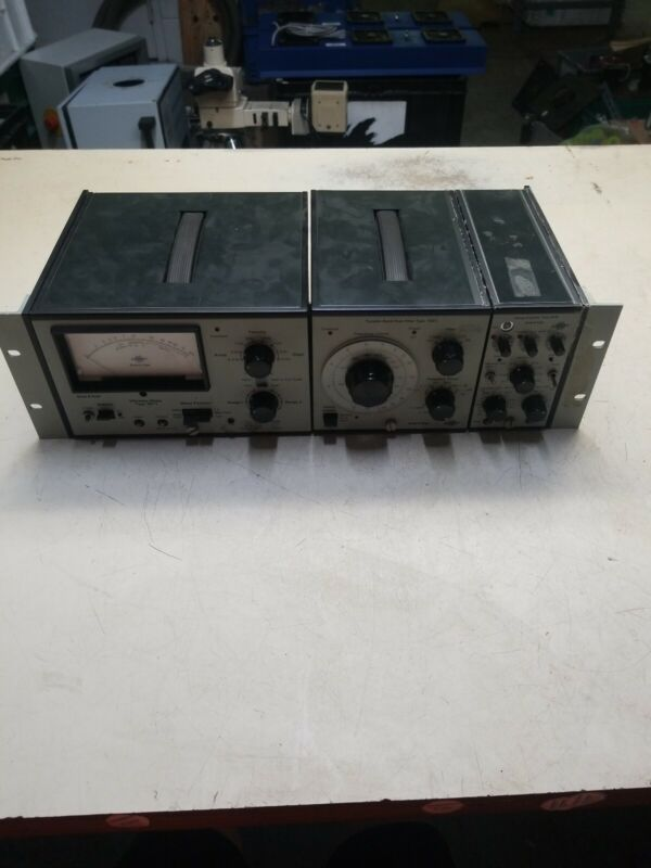 Bruel Kjaer Type 2511 Vibration Meter, Tunable Band Pass Filter Type 1621,