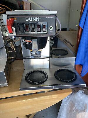 Bunn Cwtf35 Auto Commercial Coffee Brewer 3 Warmer 240v 12950 0252.
