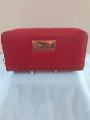 Beautiful NWOT Large Red Jean-Louis Scherrer Purse/Wallet