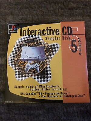 Sony Playstation 1 PS1 Interactive CD Sampler Disc Volume 5