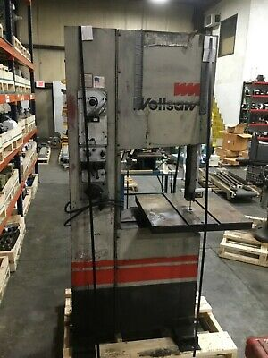 Wellsaw Vertical Contour Cutting Bandsaw Model W-20 60bk