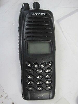 Kenwood Tk5210 K3 Vhf P25 Transceiver Full Keypad -no Ac Adapter-no Battery