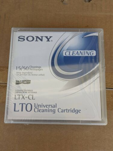 Sony LTXCL LTO Universal Cleaning Cartridge new for Lto Ultrium-1 2 3 4 5 6 7 8