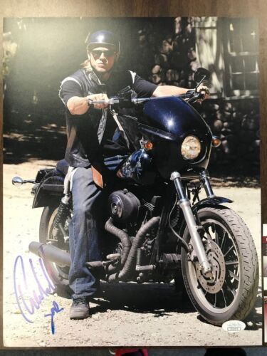 Sons of Anarchy Charlie Hunnam Autographed Signed 11x14 Photo JSA COA