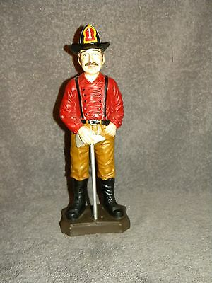 Vintage style  Fireman FIRE FIGHTER  Figurine     Engine Company 1