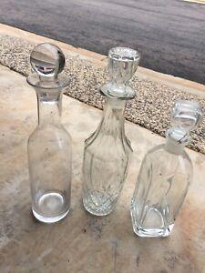 Whisky bottles $5 for all