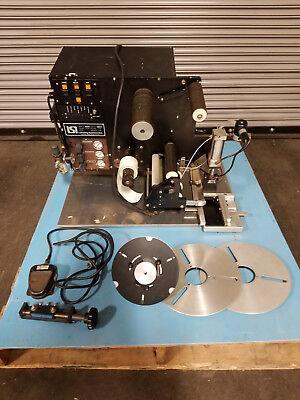 Lsi Labeling Systems Inc 3070 Pressure Sensitive Label Applicator Labler 120v