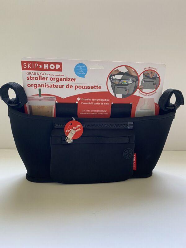 Skip Hop Grab & Go Baby Stroller Organizer - Black - Brand New!!