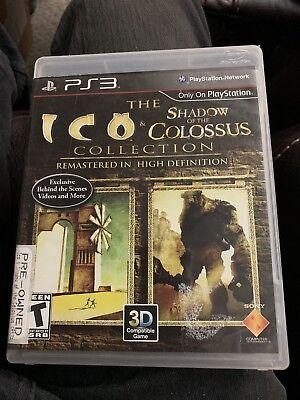 Usado, The Ico & Shadow of the Colossus Collection (Sony PlayStation 3, 2011) segunda mano  Embacar hacia Argentina
