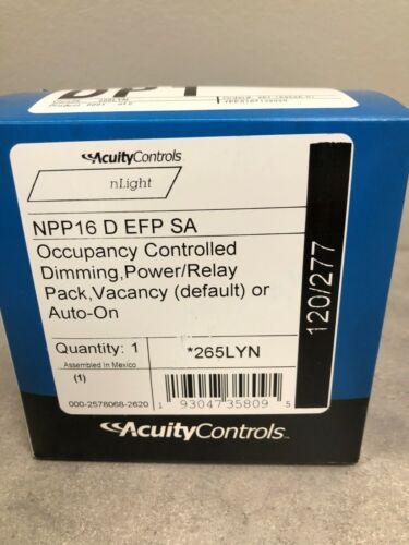 Acuity Controls NPP16 D EFP SA Occupancy Controlled Dimming Power/Relay Pack