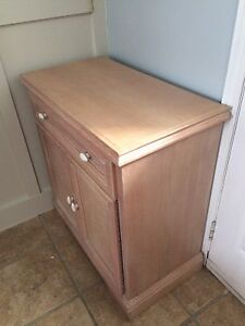 Beautiful solid wood cabinet - price drop
