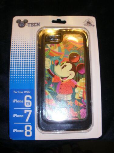 Disney Parks D-TECH iPhone 8/7/6s Case Aloha Mickey Jeff Granito Dole Whip (NIP)