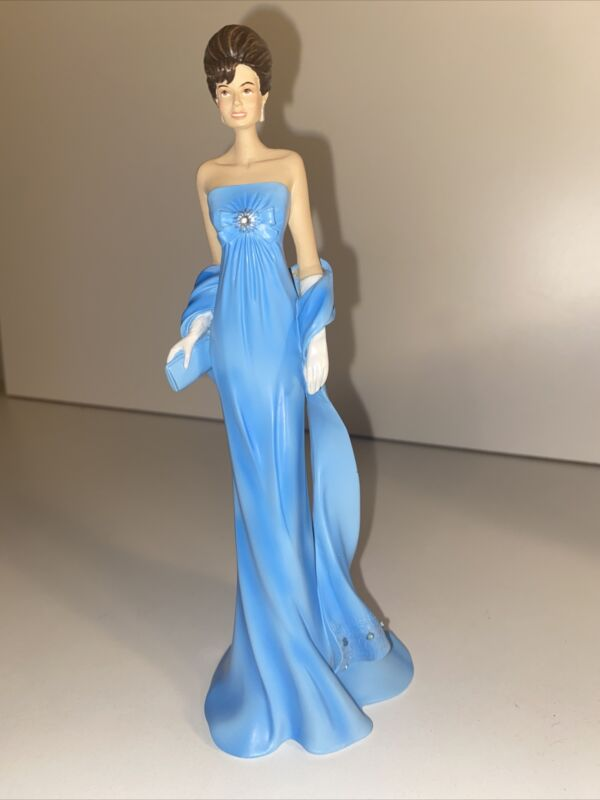 """Jackie Kennedy Hamilton Collection Collectible Figurine """"Majestic Gala"""""""