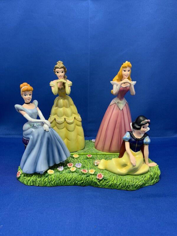 Disney Cinderella Belle Sleeping Beauty Snow White FIGURINE Disney Theme Park
