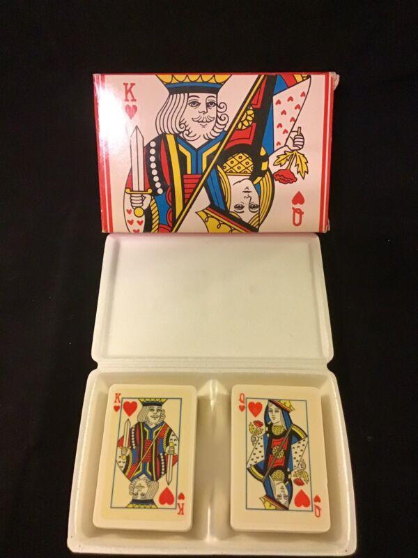 Vintage Avon Decorative Soap - Royal Hearts Hostess Soap Set  - King & Queen