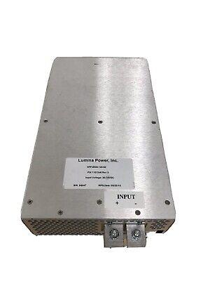 Lumina Power Hpp-6000-120-50 Laser Diode Driver Power Supply Unit