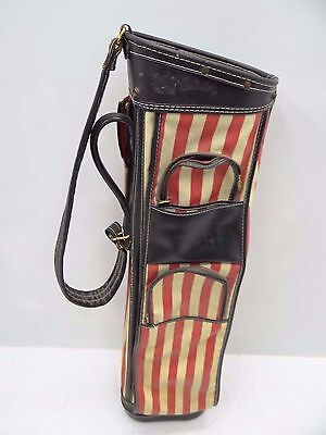 Red White Blue Vintage JC Higgins Sears Roebuck American Flag Golf Club Bag