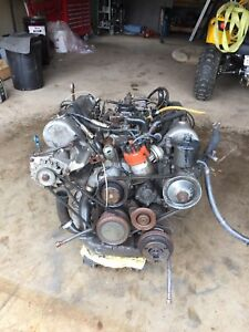 1974 Mercedes 450sl engine/transmissio