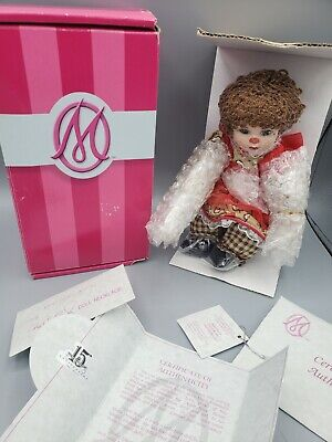 Marie Osmond Apple Spice Muffin Rag A Muffin Doll COA + Doll Necklace + Hat
