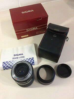 Sigma Zoom 60-200mm F4-5.6 KPR Fit Mount VGC Boxed Fit-mount