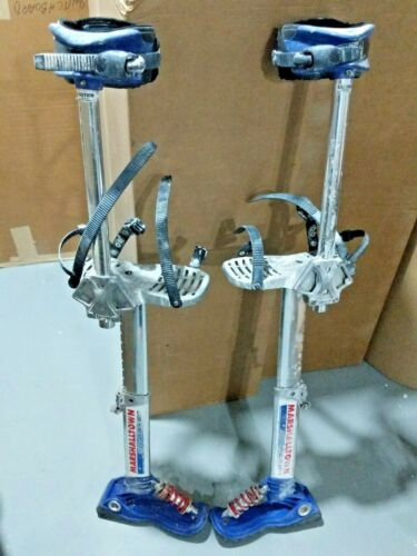 "Marshalltown Skywalker 2.0 Drywall Stilts 18-30"" Pre-Owned"