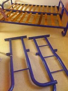 Blue metal bunk beds Byron Bay Byron Area Preview