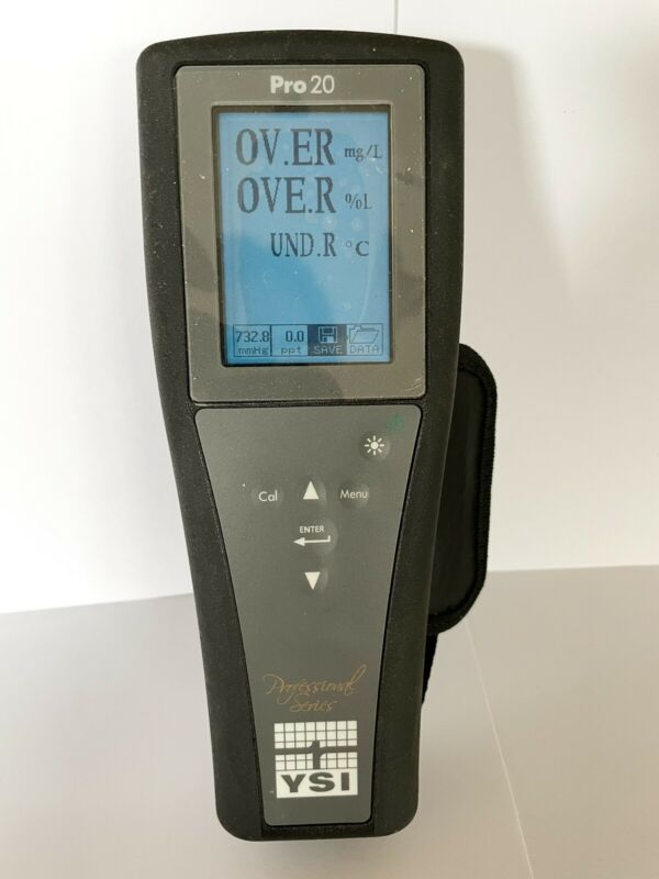 YSI Pro 20 Dissolved Oxygen Temperature Meter 0-50ppm