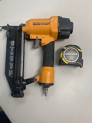Bostitch SB-1664FN 16 Gauge Straight Finish Nail Gun * Stanley 25' Tape covid 19 (16 Gauge Nail Gun coronavirus)