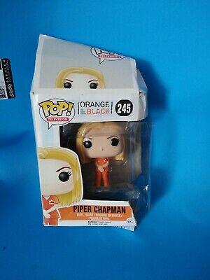 Piper Chapman Orange is the new Black #245 Vinyl Figure 2015 FUNKO NEW (Chapman Piper)