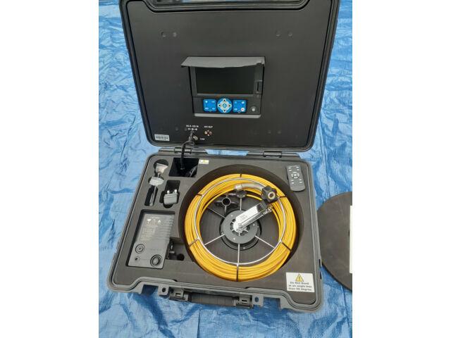 SUPER ROD SUPER CAM V7.1 CABLE INSPECTION CAMERA KIT IP 68 30M LENGTH
