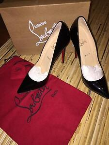 Authentic Christian Louboutin Pigalle 120 Patent Black Heels Narre Warren Casey Area Preview
