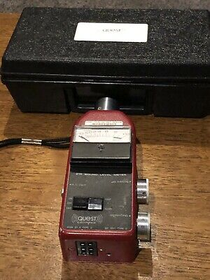 Quest 215 Sound Level Meter - Tested Working