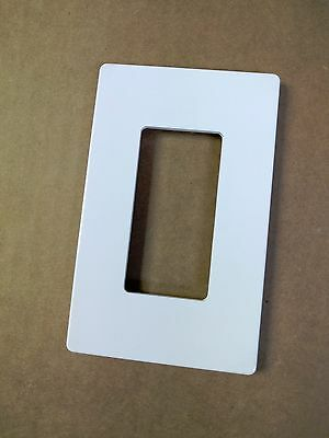 **Free Shipping** (10 pc) Decorator Screwless White Wall Plate 1 Gang GFCI Cover Wholesale Wall Plates