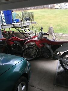 Package deal 05 and 04 Honda cr 250R's