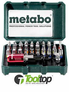 Metabo Bit Set Bitbox 32 teilig  Bitset Promotion 626700000