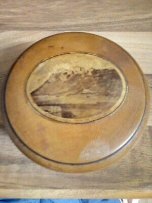 Mauchline Ware String thread box King's Knoll Stirling Castle