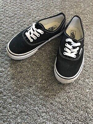 junior vans Size 1.5