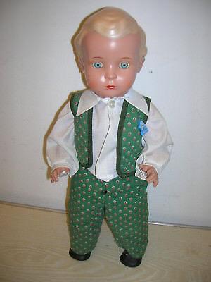 """Schildkröt Puppe 46 Germany """"Der Blonde HANS"""" - Sammlerauflage REP"""