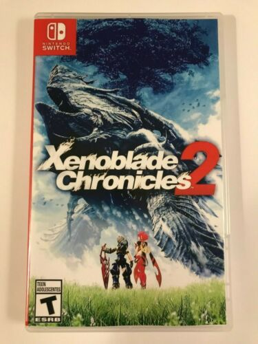 Xenoblade Chronicles 2 - Nintendo Switch - Replacement Case - No Game