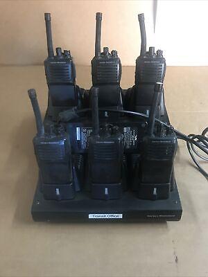 Lot Of 6 Vertex Standard Vx-351-g7-5 Vac-6300 6-unit Charger