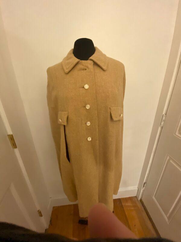 Vintage Cape Wool 50's-60's TAN TRUE