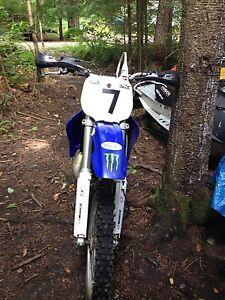 1997 Yamaha  YZ 125