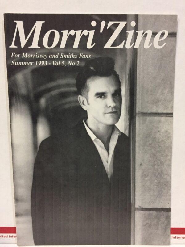 1993 The SMITHS Morrissey US Fanzine The Morri
