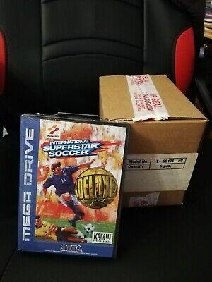 6 copie International Superstar Soccer - Sega Mega Drive SIGILLATO