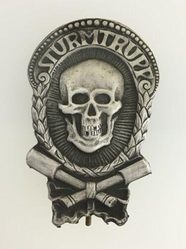 Imperial German WWI Stormtrooper Badge as worn by Army  Storm Trooper units