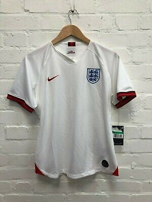 Nike England Football Women's 2019/20 Home Shirt - XL - White - NWD