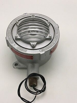 Federal Signal Horn Explosion Proof 41X 24VDC 30 Watts Produces 100 dBa @ 10'  (Explosion Proof Horn)